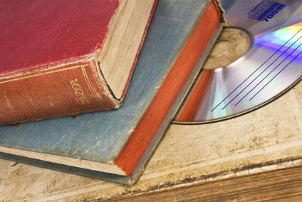 Bücher findet man auf jeden Flohmarkt